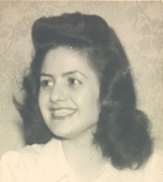 Photo of my Mother for Shared History