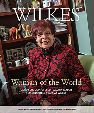 Wilkes Magazine Fall 2019 Cover
