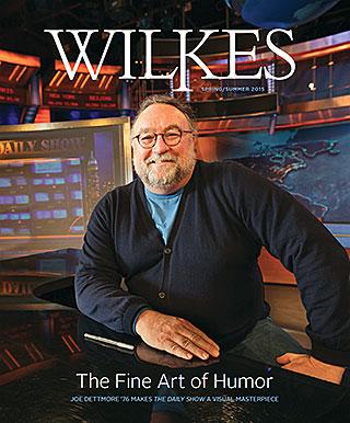 Wilkes Magazine Spring 2015 Cover