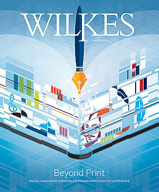 Wilkes Magazine Winter 2015 Cover