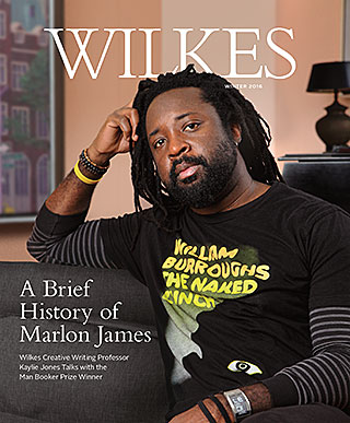 Wilkes Magazine Winter 2016 Cover